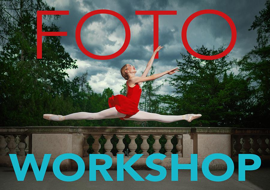 foto workshop - focení tance